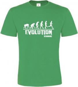 Pánské tričko Evolution Running zelené