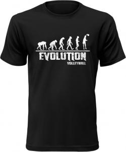 Pánské tričko Evolution Volleyball černé
