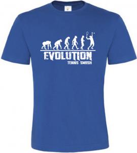 Pánské tričko Evolution Tennis Smash modré