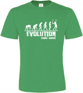 Pánské tričko Evolution Tennis Smash zelené