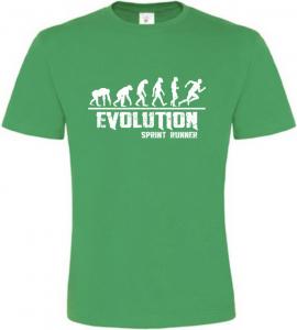 Pánské tričko Evolution Sprint Runner zelené