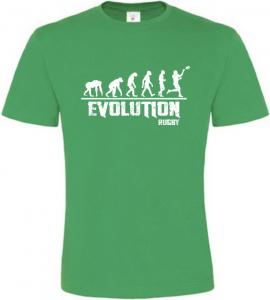 Pánské tričko Evolution Rugby zelené