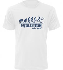 Pánské tričko Evolution Best Rugby bílé