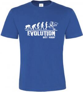 Pánské tričko Evolution Best Rugby modré