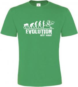 Pánské tričko Evolution Best Rugby zelené