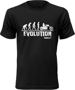 Pánské tričko Evolution Harley černé