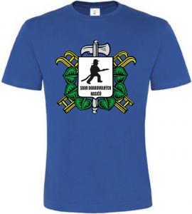 Pánské tričko pro Hasiče SDH modré