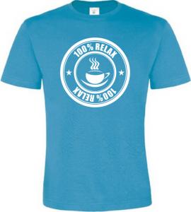 100% Relax Coffee atoll tričko