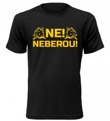 Pánské rybářské tričko Neberou černé