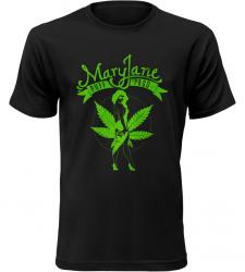 Mary Jane černé tričko pánské