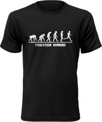 Evolution Running pánské černé tričko