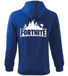 Pánská a dětská mikina Fortnite modrá