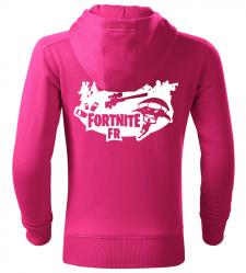Dětská mikina Fortnite FR růžová